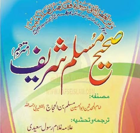 Ahadees urdu sahi muslim part 1 by allama ghulam rasool saeedi download pdf book