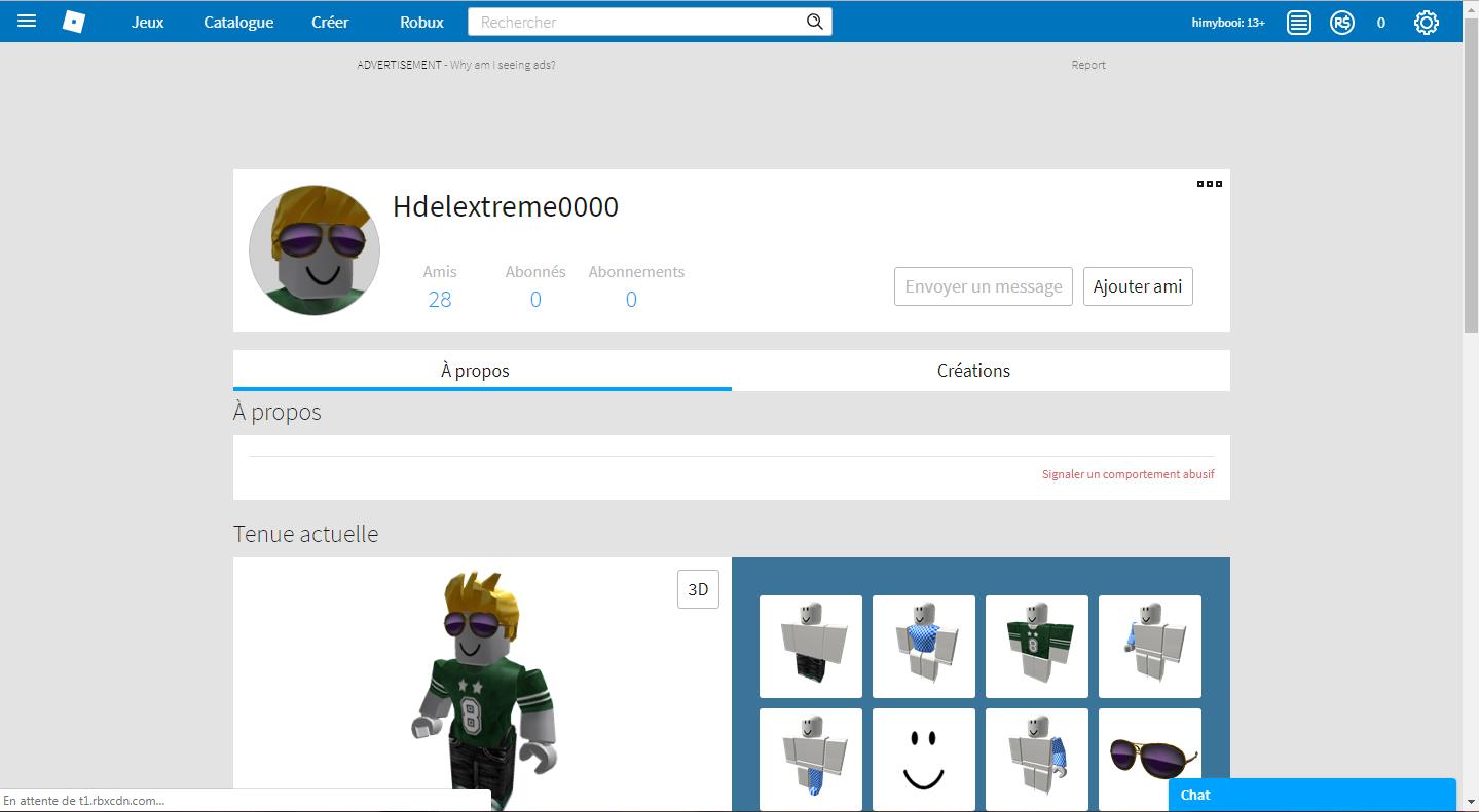 my old Roblox game profil : HX3 : Free Download, Borrow ...