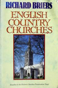 Cover of: English Country Churches | Richard Briers