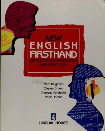 Cover of: New English Firsthand   M. Helgesen