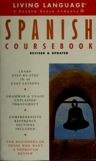Cover of: Spanish coursebook | Irwin Stern